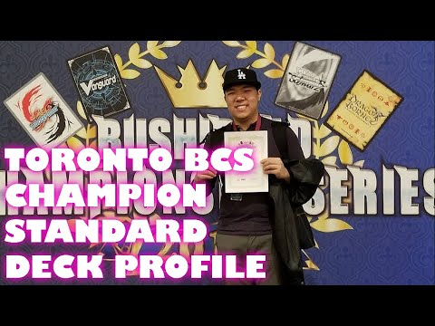 Toronto BCS 2018 Standard Champion Duncan Yeung's Murakumo Deck