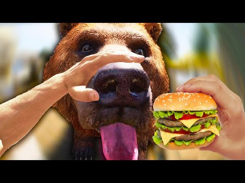 cheeseburger the bear far cry 5 funny moments