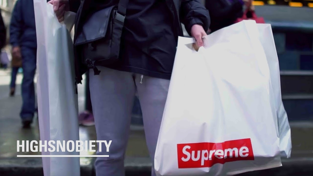 Download How much did London spend at the Supreme drop?