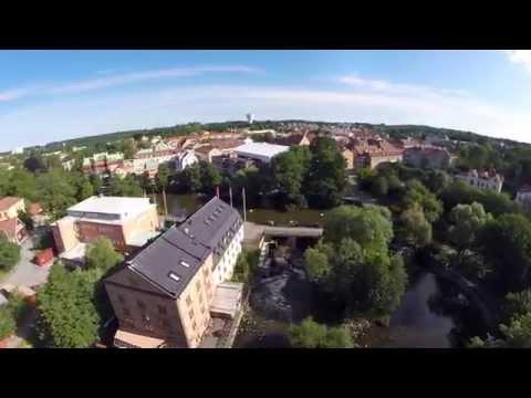 Nyköping by Drone. DJI Phantom 2, GoPro 3+ black edit.