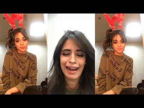 Camila Cabello | Instagram Live Stream | 13 December 2017