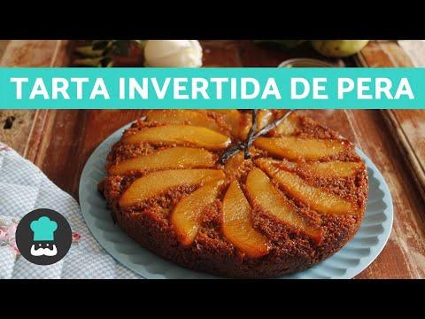 Tarta de Pera FÁCIL 🍐 - Receta de Torta Invertida de Pera DELICIOSA