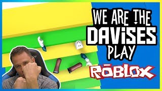 Im Auf einer Rampage | Roblox Mega Fun Obby EP-55 | Wir sind die Davises Gaming