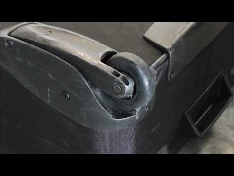 How To Repair Luggage Wheels