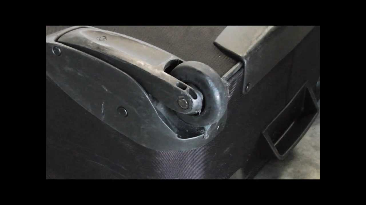 How To Repair Luggage Wheels - YouTube