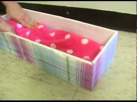 How To Make An American Girl Doll Bed Youtube