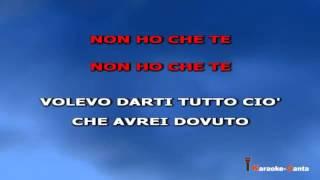 Ligabue - Non Ho Che Te (Video karaoke)