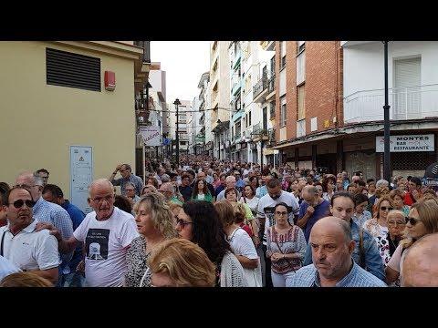 Masiva manifestación en el Campo de Gibraltar diciendo no a un tren tercermundista