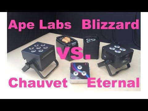 Massive Uplight Review: Ape Labs Maxi vs. SkyBox 5 vs. Freedom Par Quad 4 vs. CUBEecho MKII