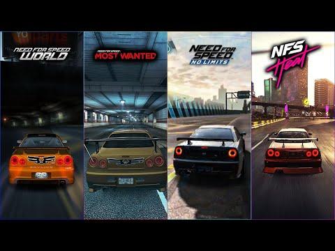 Nissan Skyline GTR R34 In NFS Games