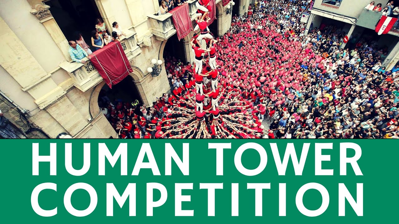 Human Tower Competition Castell Breathtaking Festival