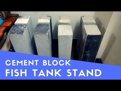 Cement Blocks Aquarium Stand | DIY | The Indian Fishkeeper