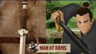 Sokka's Meteor Sword (Avatar: The Last Airbender) - MAN AT ARMS(Which weapon will be next? ▻ Subscribe! http://bit.ly/AWEsub Every other Monday, master swordsmith Tony Swatton forges your favorite weapons from video ..., 2013-09-23T17:08:15.000Z)