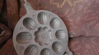 Форма для выпечки 9 шт. орешков (Обзор Лота)