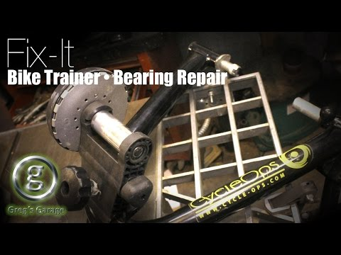 Fix Your Noisy Bicycle Trainer!