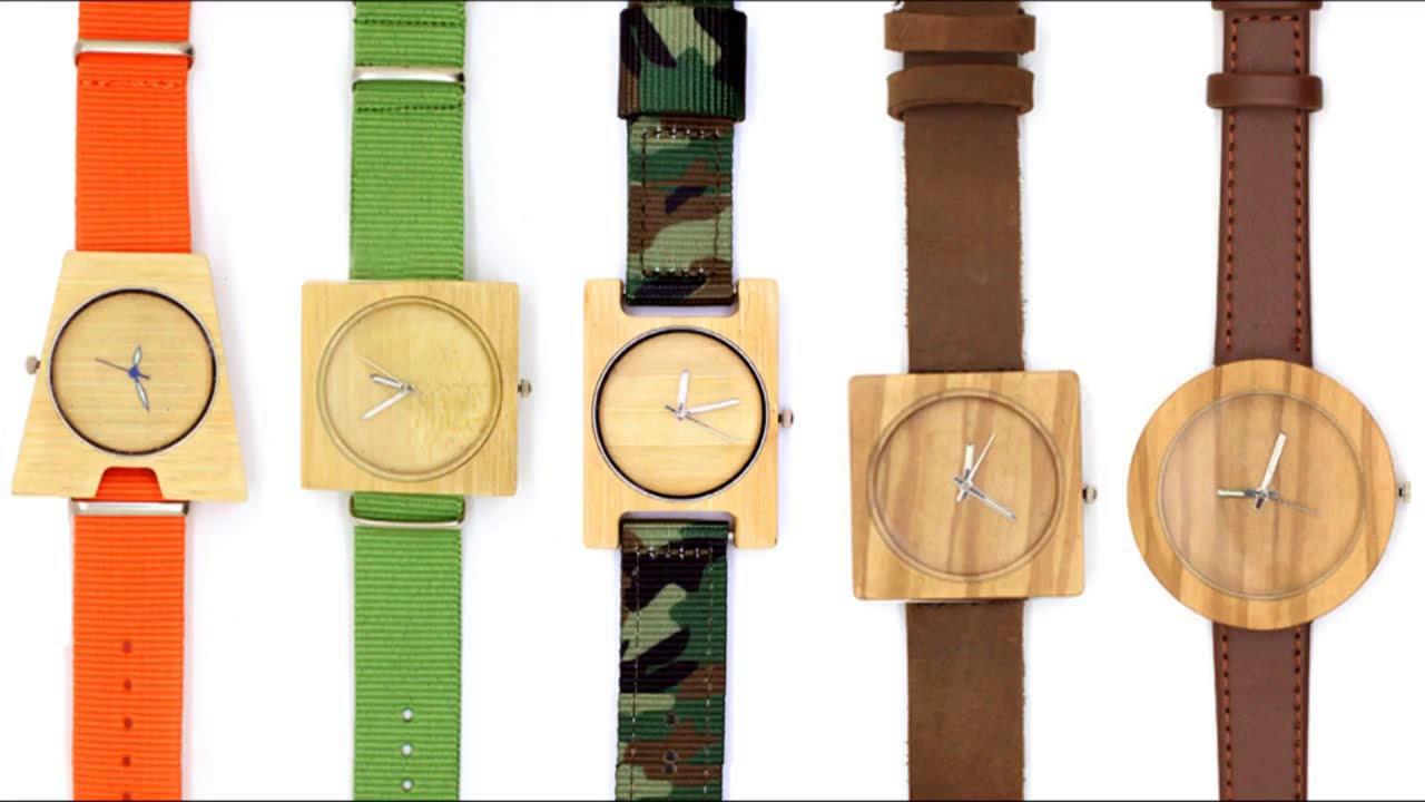 408a744a4db7 TAKEMOTO handmade wood   bamboo solar electronice or mechanical watch