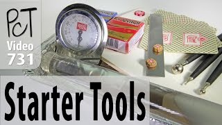 Polymer Clay Tools for Beginners - Basic Starter Kit