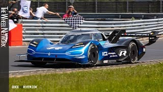 Volkswagen ID. R – Impressions from the Nurburgring Nordschleife record lap