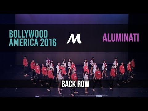 Aluminati | Bollywood America 2016 [Official Back Row]