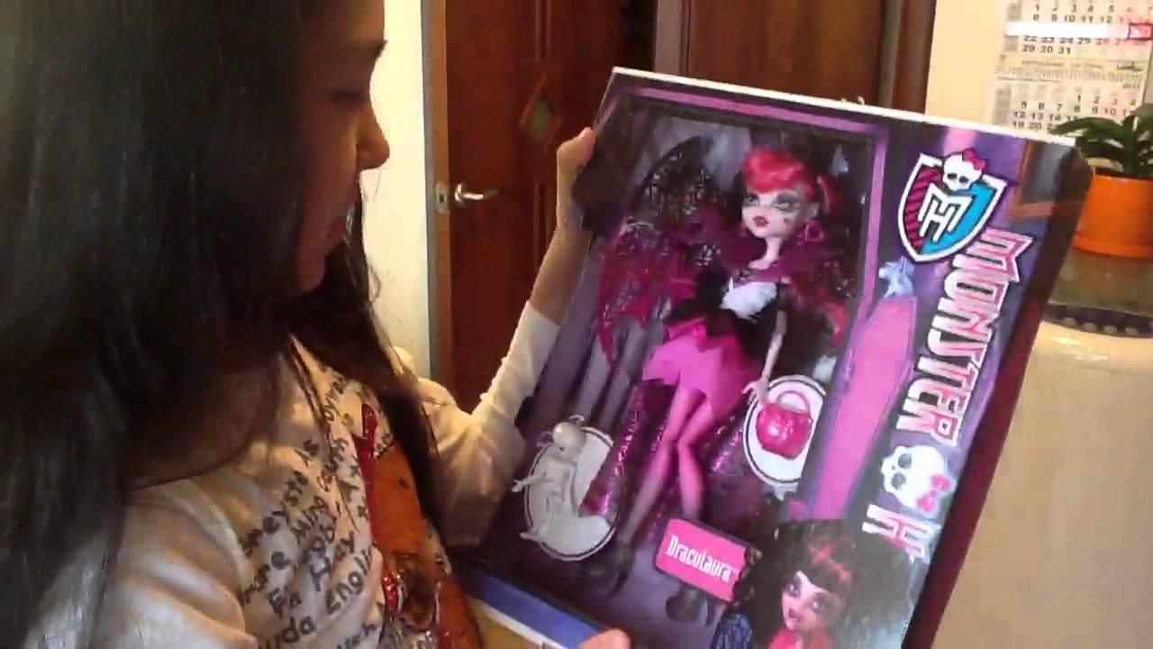 Мои  3 новые куклы Monster High!
