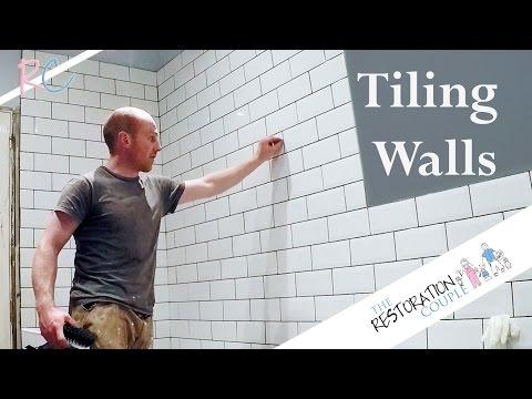 Bathroom Renovation 6.0 | Tiling Walls