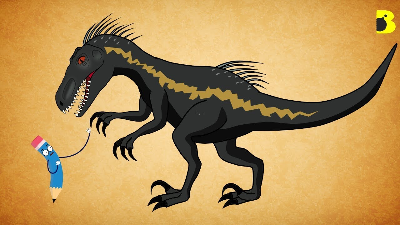 How To Draw Indoraptor In Jurassic World Fallen Kingdom Bumfun