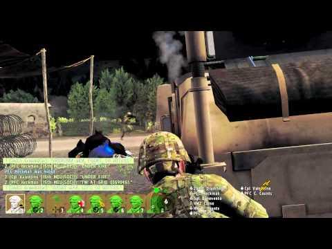 Chasing Grim Reaper - Mission 1 - ArmA 2 Uncut Co-op Gameplay