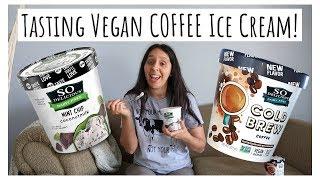 I Tried VEGAN Coconut Ice Cream for YOU! Taste test!