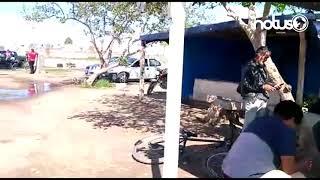 "Campos de futbol "" Luis Hernández"", convertidos en laguna"
