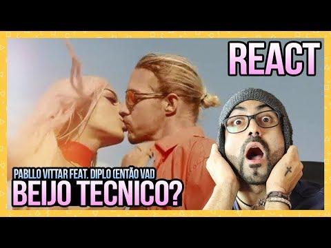 REAGINDO a Pabllo Vittar - Então Vai Feat Diplo