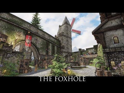 Skyrim SE Mods: The Foxhole - Player Home