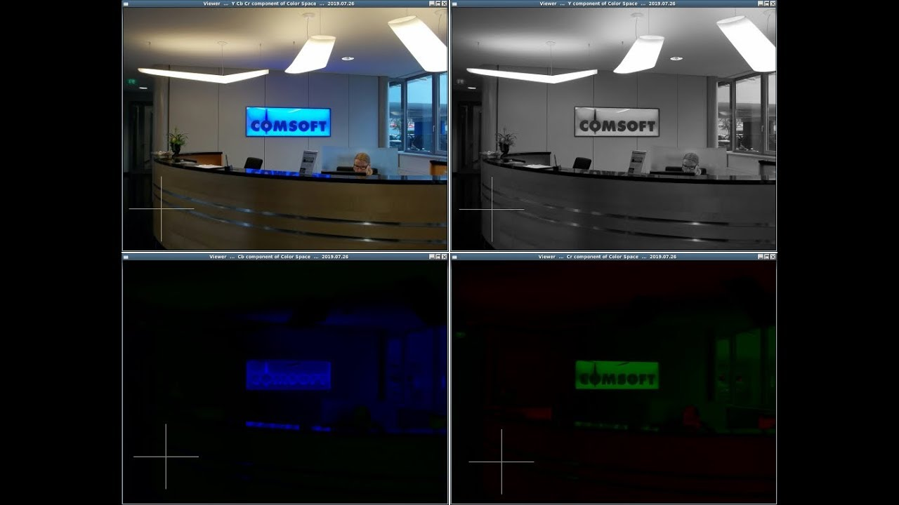 Luminance Chrominance of the color space for conversion from RGB to YCbCr