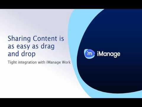 iManage Share Cloud File Sharing for Law Firms Demo