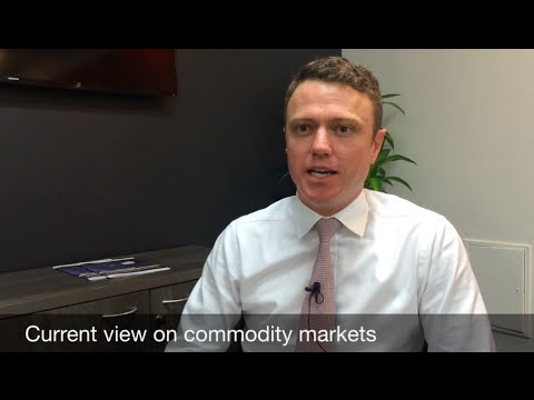 The turning point in commodity markets