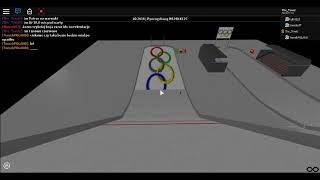 IO in ROBLOX: The last second series of the competition in Pjongchang on a large hill