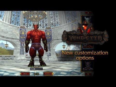 VendettaWoW - New Customization Options