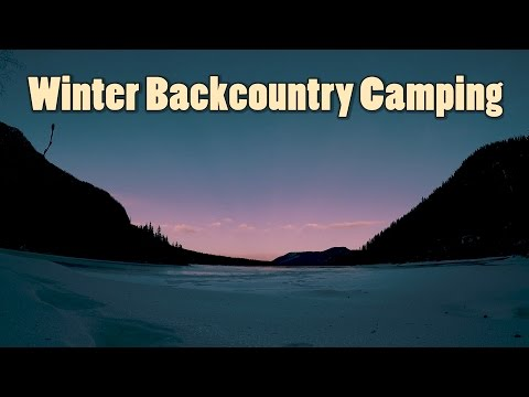 Kananaskis Backcountry Camping Trip in the Winter | Journey Alberta