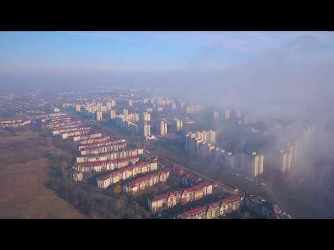 Debrecen Ködös reggel Tócóskertben.