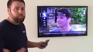 How To RETUNE A SAMSUNG TV