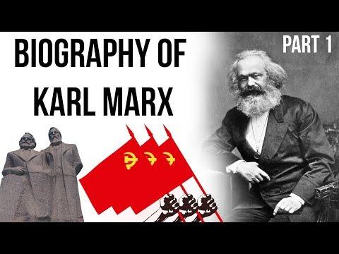Biography of Karl Marx, German philosopher, author of Das Kapital & The Communist Manifesto, Part 1