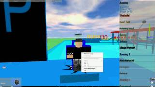 ROBLOX - Kane905 Showing How Hard Are One Obbstacle Courses! HD