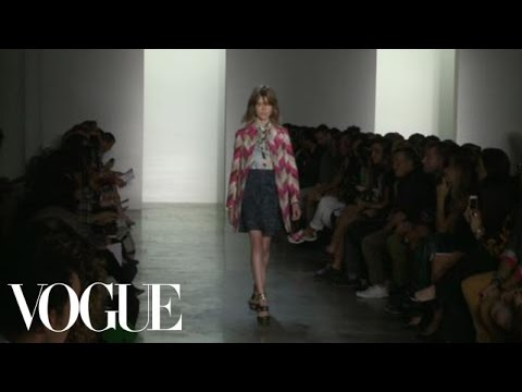 Peter Som Ready to Wear 2013 Vogue Fashion Week Runway Show