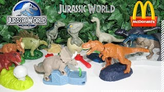 Jurassic World Mc Lanche Feliz Junho de 2018 Mcdonalds - Jurassic World Mcdonald