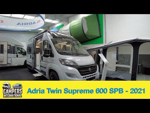 Adria Twin Supreme 600 SPB - Modelljahr 2021
