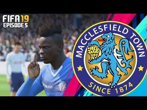 FIFA 19 MACCLESFIELD TOWN RTG CAREER MODE - #5 THE PREMIER LEAGUE!!
