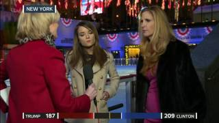 Kristin Tate & Ann Coulter React to Results on Election Night