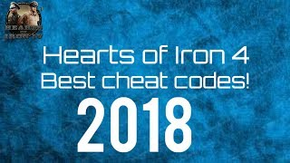 Hearts of Iron 4 | Best cheat codes!