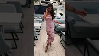 G 2198 Платье вечернее с бахромой video