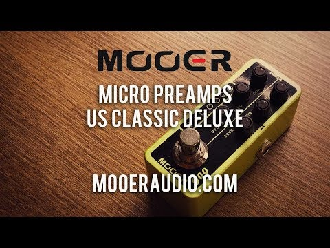 MOOER: Micro Preamp US CLASSIC DELUXE