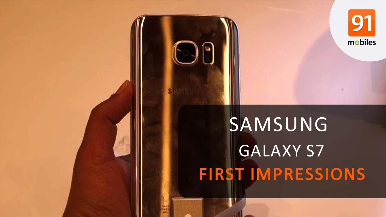 9bfd5af9c3c Samsung Galaxy S7  First Look